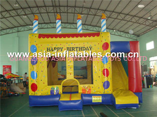 চীন Dreamland Inflatable Combo Bounce House slide inflatable bouncer কারখানা