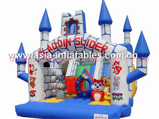 চীন inflatable combo  bounce house,cheap inflatable bouncy castle prices for sale কারখানা