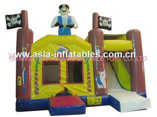 চীন 2014 Hot sale Inflatable bouncer house Inflatable combo with slide কারখানা