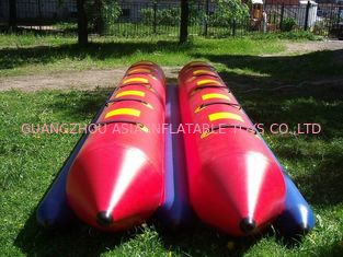চীন Inflatable Dual Tube Banana Boat, Inflatable Tube Boat For Water Sports কারখানা