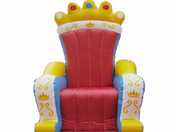 চীন Chinese Supplier Advertising Inflatable King Chair Sofa For Chair Furniture Exhibition কারখানা