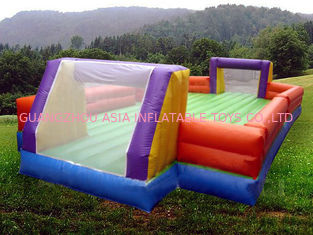 চীন Ce Inflatable Soccer Arena Court For Outside Use , Inflatable Soccer Field For Outside কারখানা