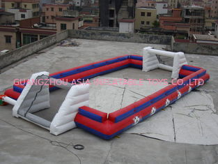 চীন China Supplier Inflatable Sports Football Pitch Without Floor Sheet , Inflatable Soccer Field কারখানা