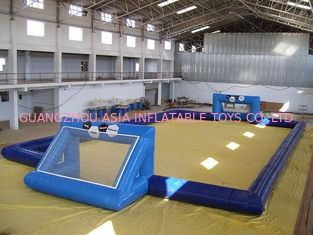 চীন commercial inflatable soccer field / soccer pitch for outdoor soccer games কারখানা
