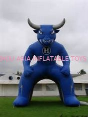 চীন Inflatable Blue Bull Entrance, Inflatable Tunnel For Sports Event কারখানা