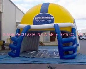 চীন NFL Helmet Entrance, Inflatable Sports Event Decoration Entrance কারখানা