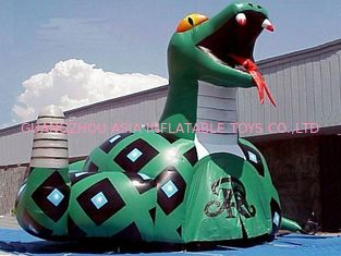 চীন Inflatable Poison Snake Design Tunnel For Outdoor Business Promotion কারখানা