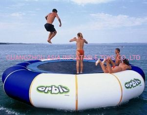 চীন Aquaglide Inversible Water Bouncer Lounge , Inflatable Water Games Factory কারখানা