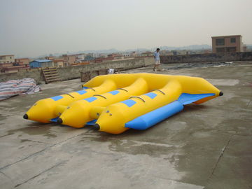 চীন Hot Air Welded Inflatable Flying Fish Boat for 6 Passengers কারখানা