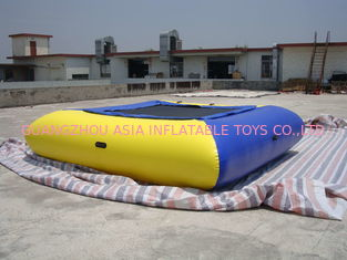 চীন Air Tight Inflatable Water Square Trampoline Water Toys For Water Sport Games কারখানা