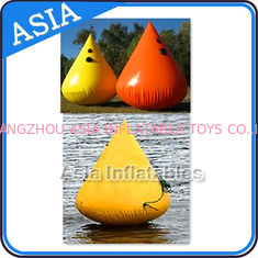 চীন Inflatable Paintball Bunker Inflatable Buoys 0.90mm PVC Tarpaulin কারখানা