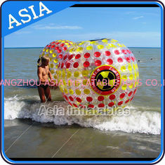 চীন 2.6M Inflatable Human Hamster Ball , Zorb Ball For Kids কারখানা