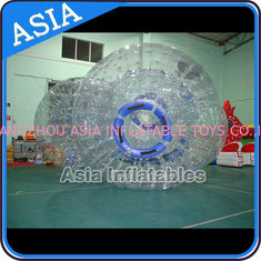 চীন Safety 1.0mm TPU Clear Inflatable Zorbing Grass Zorb Ball In Stock কারখানা