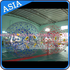 চীন Color Dots Inflatable Zorb Ball , Grass Zorb Ball , Inflatable Human Hamster Ball Customized for Kids and Adults কারখানা