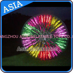 চীন Popular Inflatable Zorb Ball , Glow Zorb Ball , Fluorescent Roller Ball কারখানা