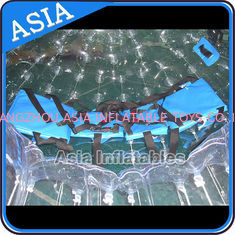 চীন TPU Transparent Inflatable Grass Zorbing Ball with Safety Harnesses কারখানা
