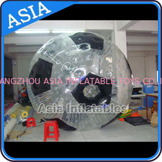 চীন Football Shape Inflatable Zorb Ball , Zorbing Ball Used On The Sea কারখানা