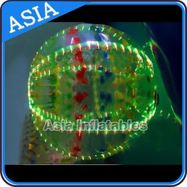 চীন Led Lighting 2.5m 1.0mm Tpu Zorb Ball For Kids With Ce Certificated কারখানা