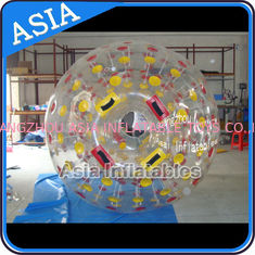 চীন PVC / TPU Hand Art Work Color Dots Zorb Ball For Water Sports Games কারখানা
