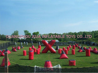 চীন Inflatable Paintball Bunker for paintball Field Equipment কারখানা