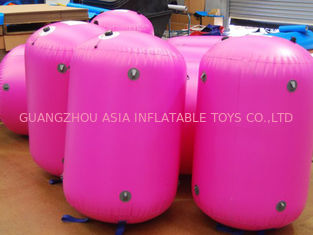 চীন 0.9mm PVC Tarpaulin customed inflatable paintball bunker কারখানা