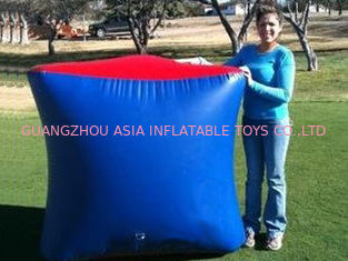 চীন Inflatable Paintball Bunker BUN26 with Flexible and Durable Anchor Strings কারখানা