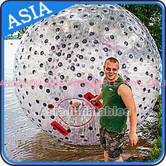 চীন Water Games Used Pvc Inflatable Zorb With Color Dots For Children কারখানা