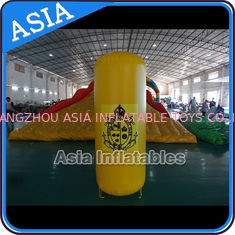চীন Inflatable Buoys , Cylinder Shape For Water Triathlons Advertising কারখানা