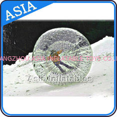 চীন Clear Inflatable Human Hamster Ball ,  Zorb Ball Used On Snow কারখানা
