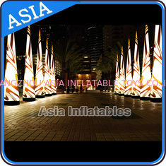 চীন Inflatable Lighting Cone , LED Light Advertising Arch , Lighting Christmas Cone কারখানা