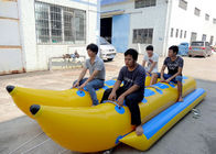 10 Person Double Seater Island Hopper Banana Boat / Towable Water Ski Tube সরবরাহকারী