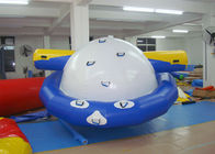 4 - 6 Person Water Inflatable Rotating Top Inflatable Water Gyro , Planet Saturn সরবরাহকারী