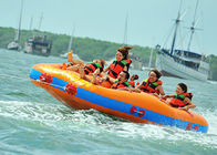 Fun Beach Surfing Water Sport Games / Inflatable Flying Towable Tube সরবরাহকারী