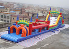 Large Scale Extreme Inflatable Obstacle Challenges Playground সরবরাহকারী