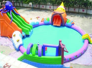 High Quality PVC Tarpaulin Strong and Durable Inflatable Octopus Water Park On Sale সরবরাহকারী