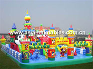 Hot Selling Inflatable Funcity, Inflatable Fun City For Kids Trampoline Park Games সরবরাহকারী