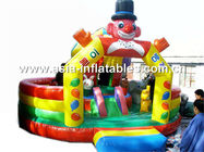 Giant Inflatable Funfair In Joker Design For Outdoor Entertainment Park সরবরাহকারী