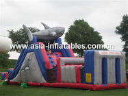 Inflatable Shark Obstacle Challenges, Inflatable Obstacle Course সরবরাহকারী