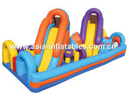 Inflatable Obstacle Course For Playground Entertainment Equipment সরবরাহকারী