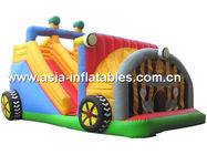 Backyard Use Inflatable Tractor Slide For Kids Entertainment সরবরাহকারী