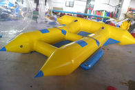 Customize Inflatable Flying Fish Boat for 4 Rides Ocean Adventure Sport সরবরাহকারী