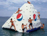 ভাল মানের একোয়া চালান Inflatables & Business Logo / Slogan Printed Iceberg For Inflatable Water Games In Park And Sea Shore বিক্রিতে