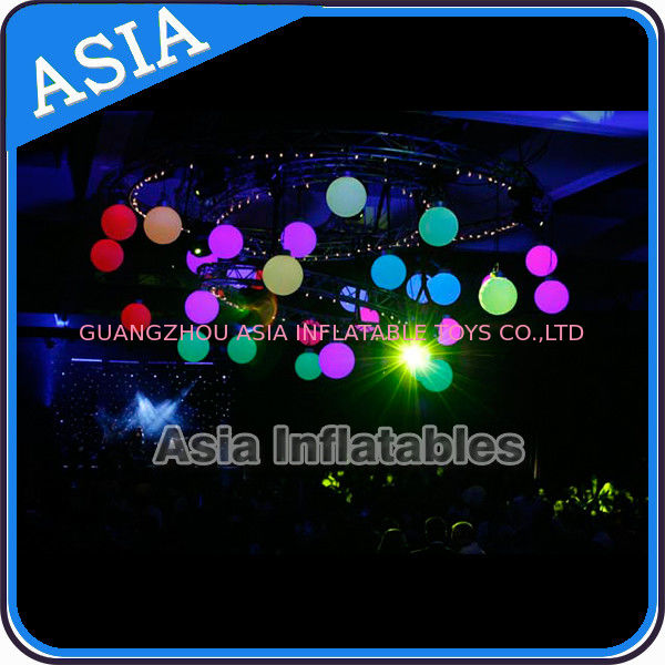 Inflatable LED Lighting Balloon Ceiling Decoration for Club Party Eclairage সরবরাহকারী