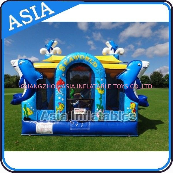 Sea World Bouncy House Inflatable Bouncer Children Amusement Sports সরবরাহকারী