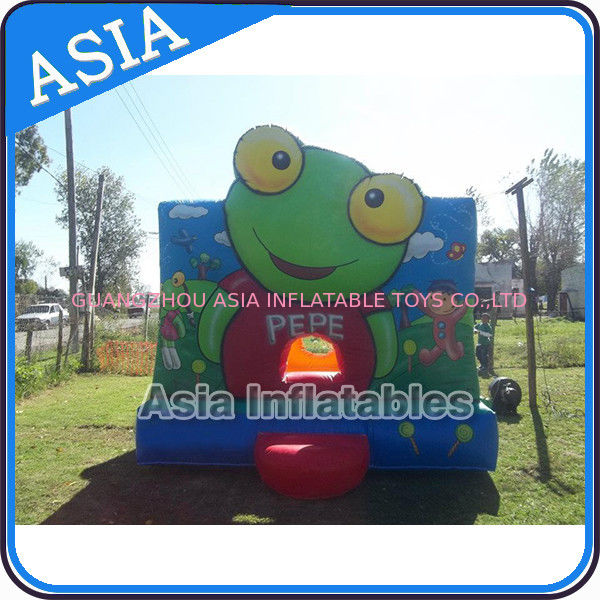 Inflatable Bouncer Sapo Pepe Bouncy Castle For Party Hire Outdoor Games সরবরাহকারী
