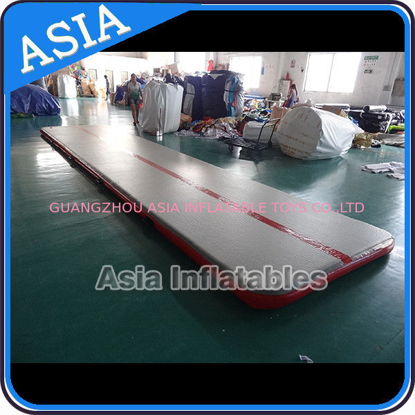 Sealed 10mL Gym Inflatable Tumble Air Mattress In Red and Gray সরবরাহকারী