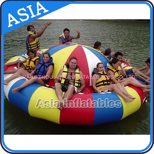 Fireproof 3m Inflatable Disco Boat With 8 Seats Pvc Inflatable Water Games সরবরাহকারী