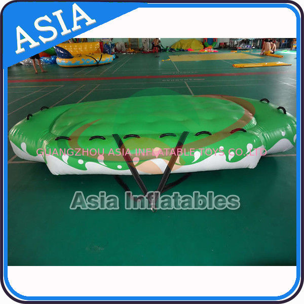 3.3m X 2.1m Digital Printing UFO Inflatable Water Boat Customized Color সরবরাহকারী