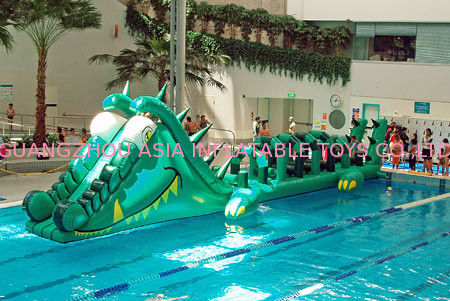 Water Challenge Sports Equipment, Inflatable Water Obstacle Courses সরবরাহকারী