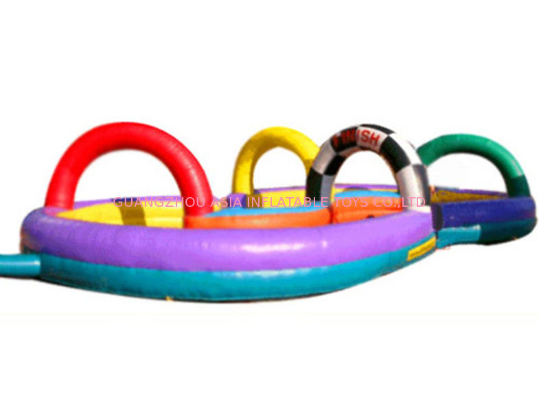 Adventure Inflatable Zorb Ball Track With EN71 / CE / ASTM Certificate সরবরাহকারী